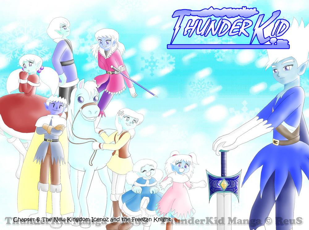 The New Kingdom Icenoz and the Freezan Knight